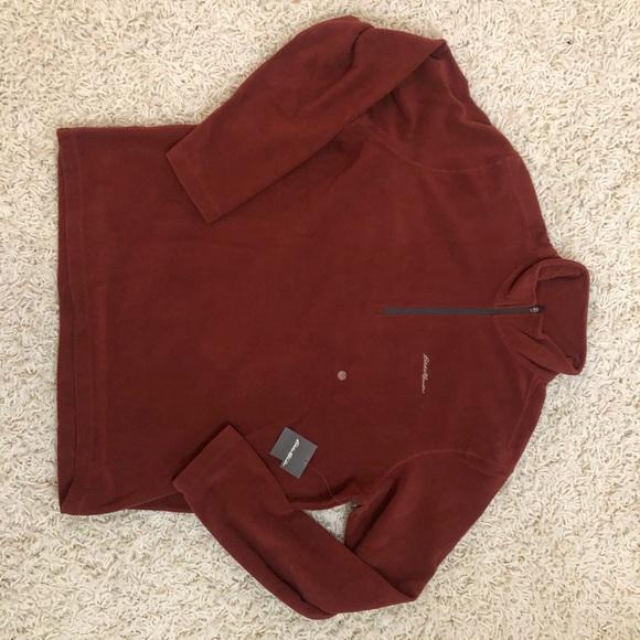 Eddie Bauer Long Sleeve Fleece Pullover (L)